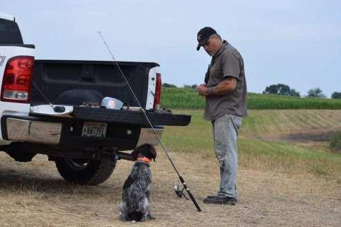 Jesse & fishing pole
